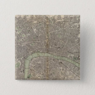 London 1843 15 cm square badge