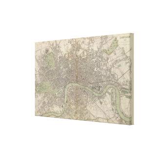 London 1843 canvas prints