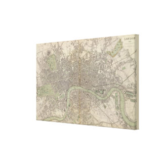 London 1843 canvas print