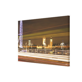 London 2 stretched canvas prints