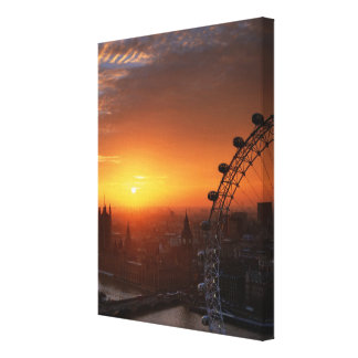 London 3 gallery wrap canvas