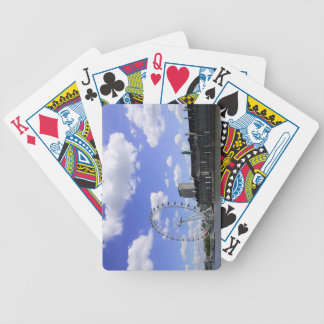 London 4 bicycle playing cards