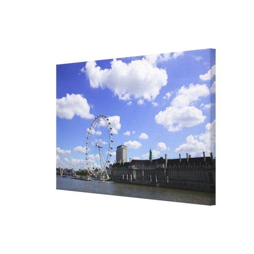 London 6 gallery wrap canvas