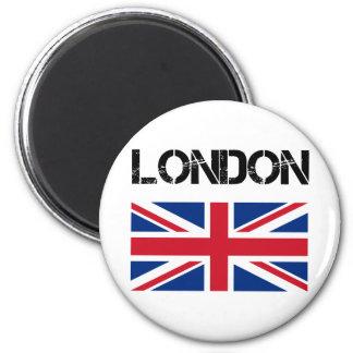 London 6 Cm Round Magnet