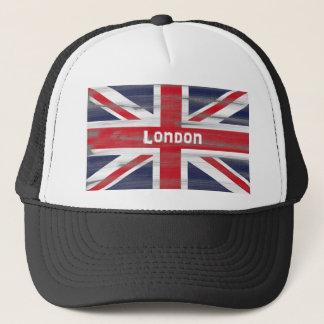 London and the Union Jack flag Hat