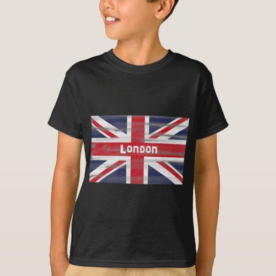 London and the Union Jack flag T-shirt