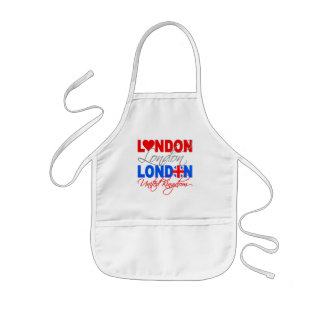 London apron - choose style