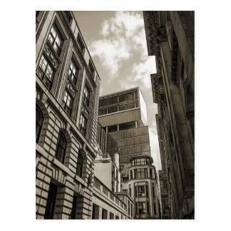 London architecture. postcard