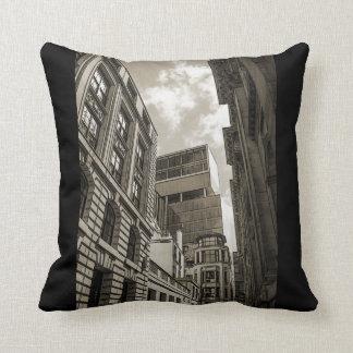London architecture. throw pillow