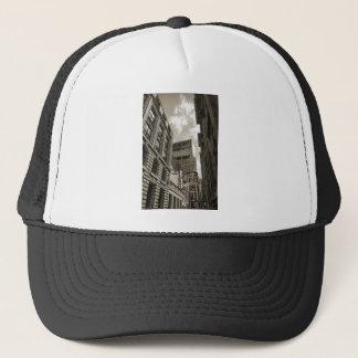 London architecture. trucker hat