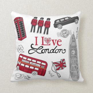 London Art Phonebooth, Doubledecker Bus Cushion