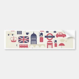 London at Heart Bumper Sticker
