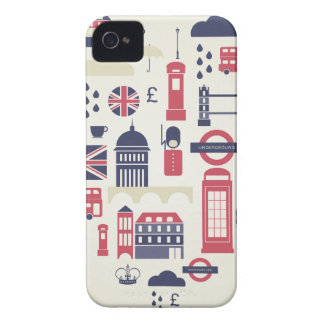 London at Heart iPhone 4 Cases