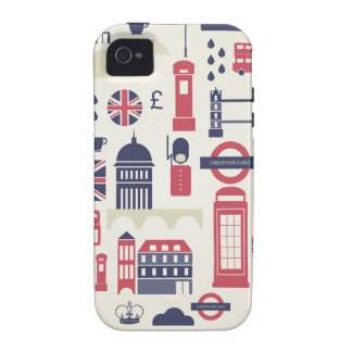 London at Heart Vibe iPhone 4 Case