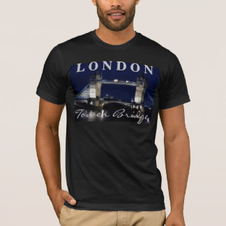 London at night, Tower Bridge T-Shirt