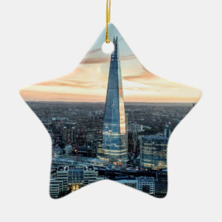 London at Sunset Christmas Ornament