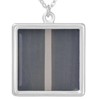 London atlas of universal geography silver plated necklace