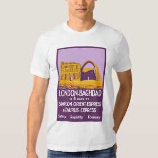 London - Baghdad Orient Express T Shirts