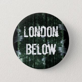London Below 6 Cm Round Badge