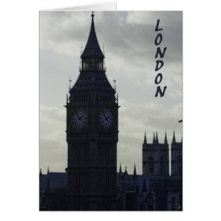 London - Big Ben Card
