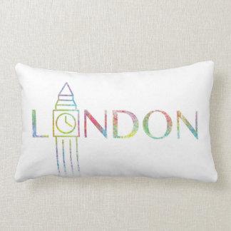 London Big Ben Colour Splash Cushion