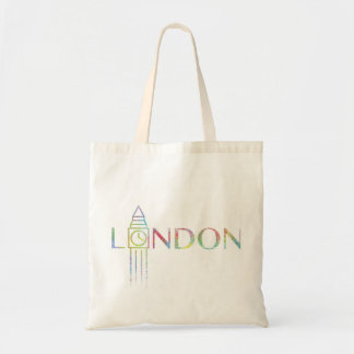 London Big Ben Colour Splash Tote Bag
