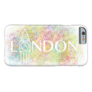 london Big Ben Colour Splash (White) iPhone Case