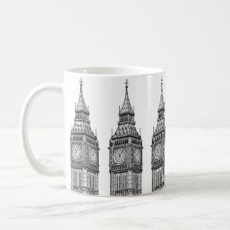 London Big Ben Illustration Coffee Mug