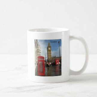 London Big Ben Phone box (by St.K) Basic White Mug