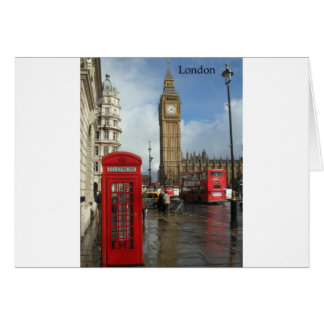 London Big Ben Phone box (by St.K) Card