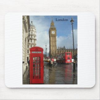 London Big Ben Phone box (by St.K) Mouse Mat