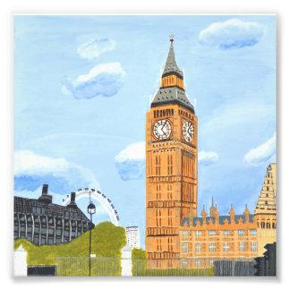 London Big Ben Photo Enlargement
