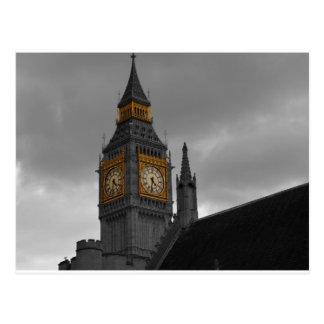 London Big Ben Postcard