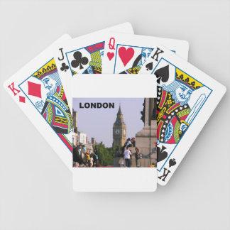 London Big Ben (St.K) Bicycle Playing Cards