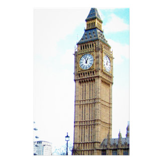 London Big Ben Stationery