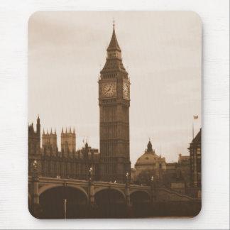 London - Big Ben - Thames - Mousepad
