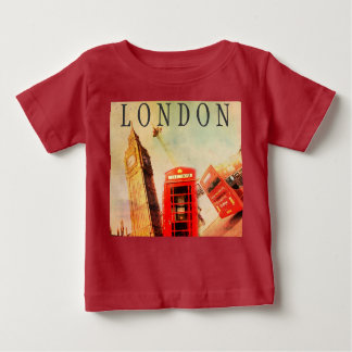 London Big Ben vintage style kids t-shirt