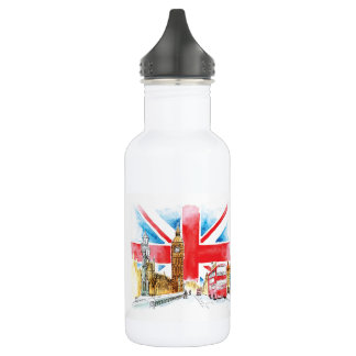 London Big Ben Water Box 532 Ml Water Bottle