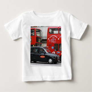 London Black Cab Taxi Baby T-Shirt