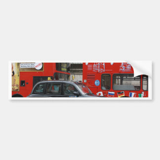 London Black Cab Taxi Bumper Sticker