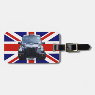 London Black Taxi Cab Bag Tag