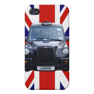 London Black Taxi Cab iPhone 4 Case