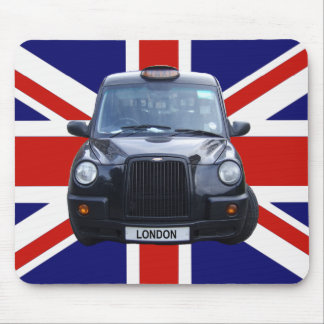 London Black Taxi Cab Mouse Mat