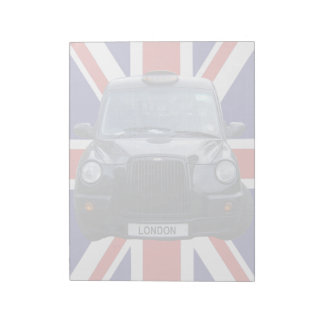 London Black Taxi Cab Notepad