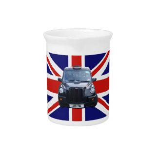 London Black Taxi Cab Pitcher