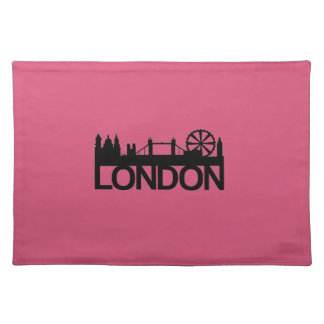 London Bold Silhouette Placemat