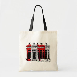 London Booths Tote Bag