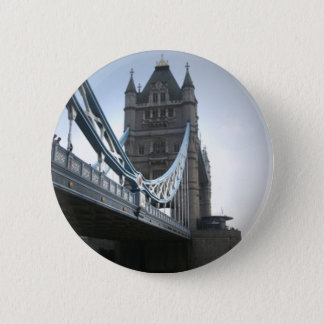 London Bridge 6 Cm Round Badge