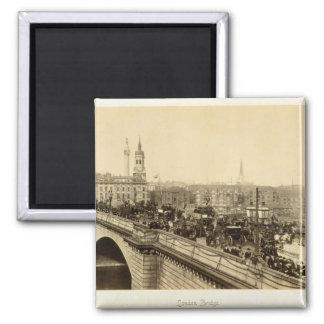 London Bridge, c.1880 (sepia photo) Magnet