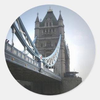 London Bridge Classic Round Sticker